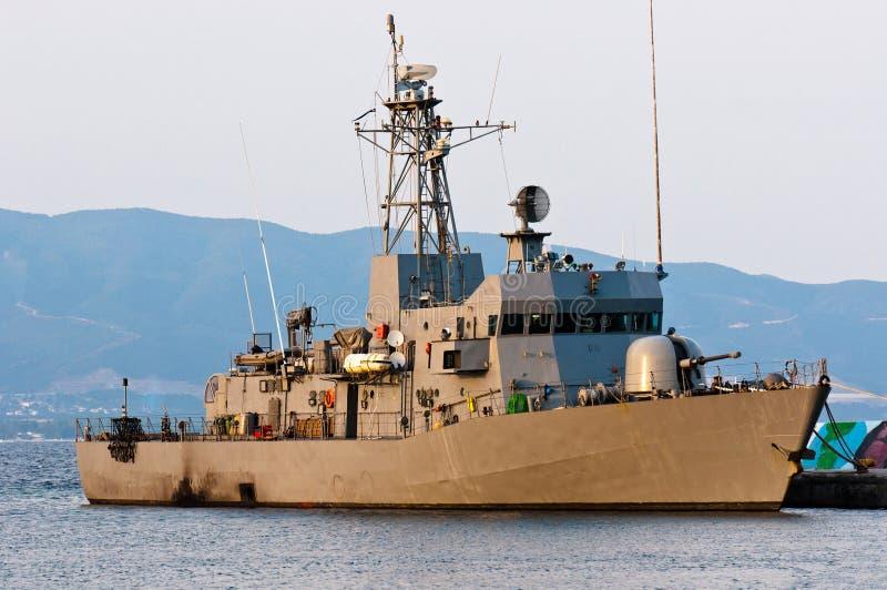 Grand bateau de bataille photographie stock libre de droits