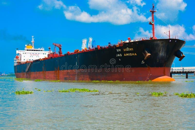 Grand bateau puissant d'Inde photos libres de droits