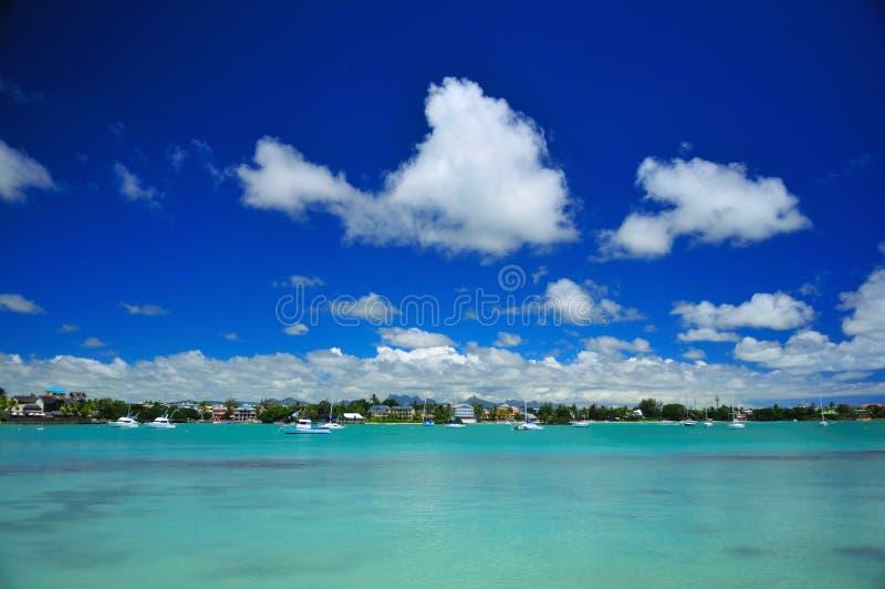 Grand Bay Lagoon Stock Photography