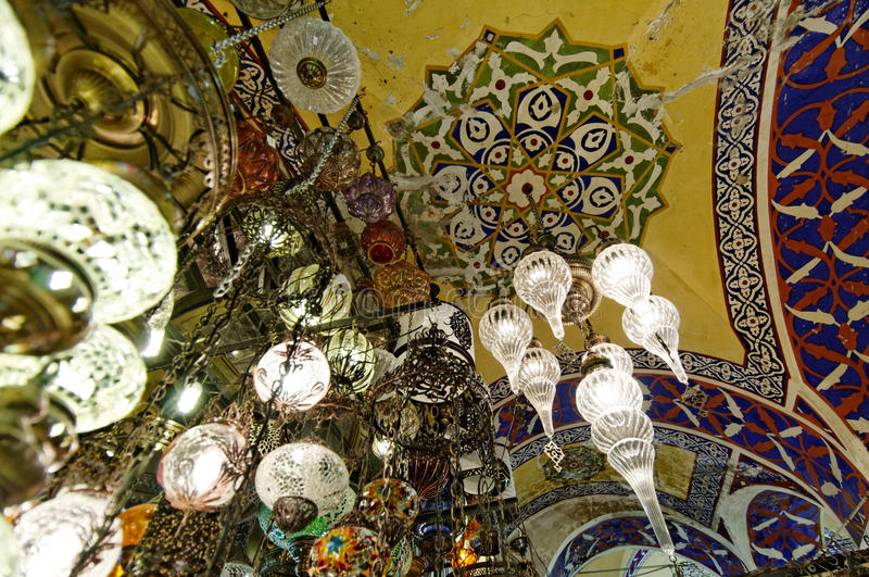 Download Grand Bazaar Ceiling In Istanbul Stock Image - Image: 29350195