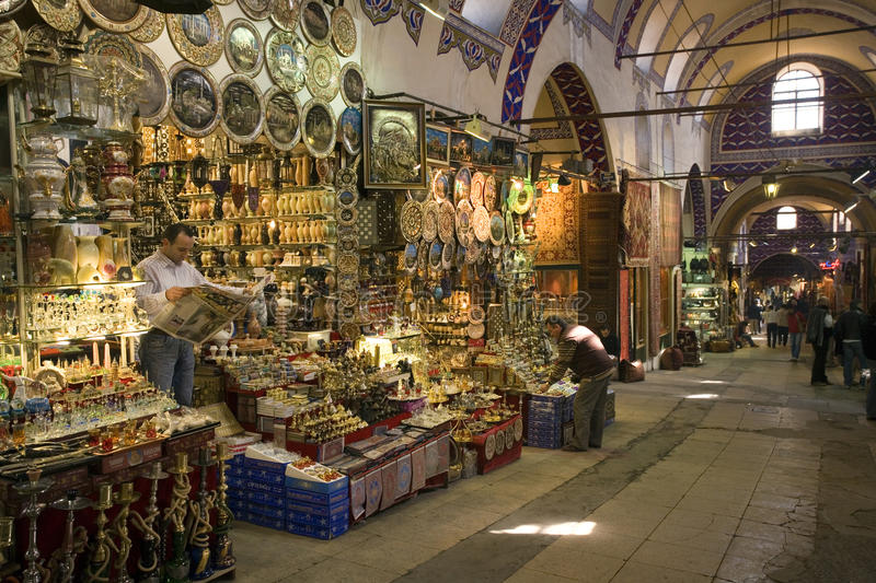 Grand Bazaar - Istanbul - Turkey royalty free stock images