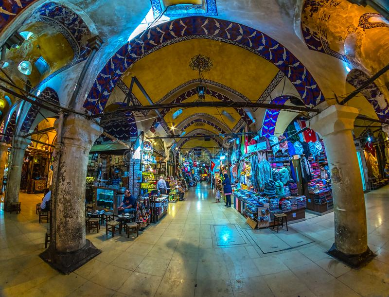 Grand Bazaar, Istanbul, Turkey. royalty free stock images