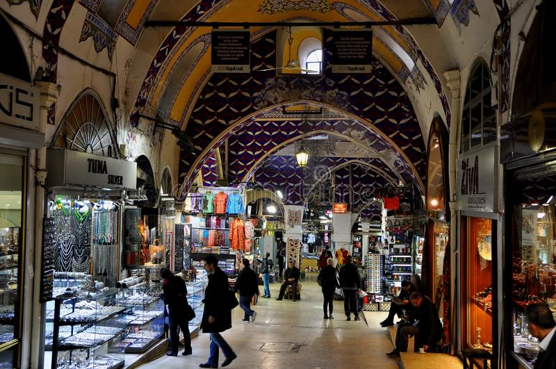 Download Grand Bazaar, Istanbul, Turkey Editorial Photo - Image of spice, beautiful: 39513136