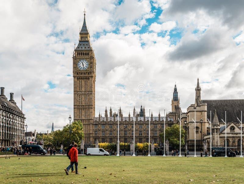 Grand Ben et centre de la ville de Londres, R-U photographie stock