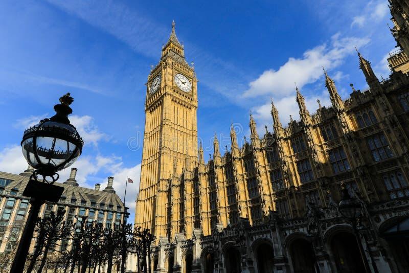 Grand Ben et la maison du Parlement image libre de droits