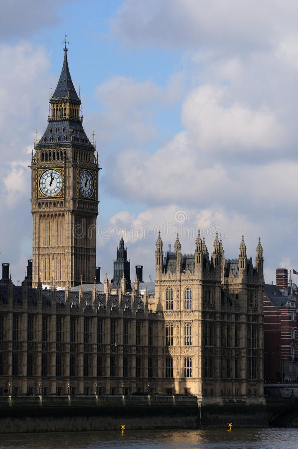 Grand Ben et Parlement images stock