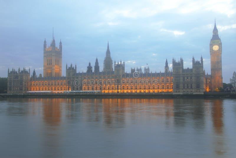 Grand Ben et Parlement, Londres photos libres de droits