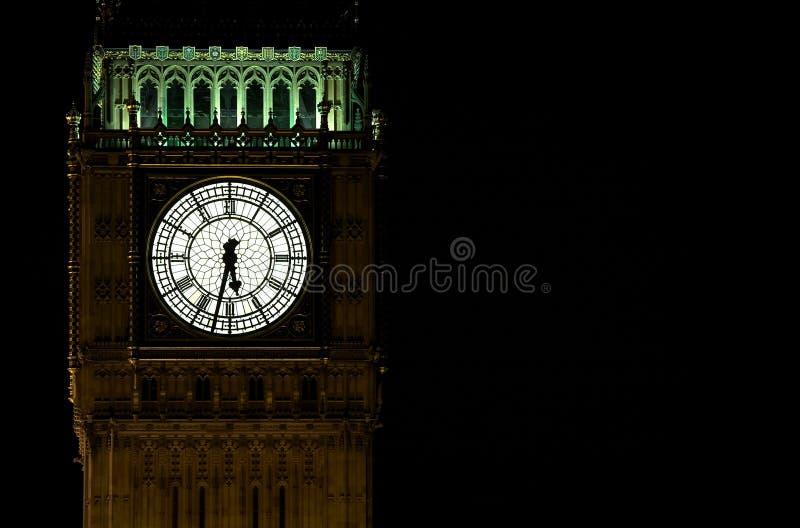 Grand ben la nuit photographie stock