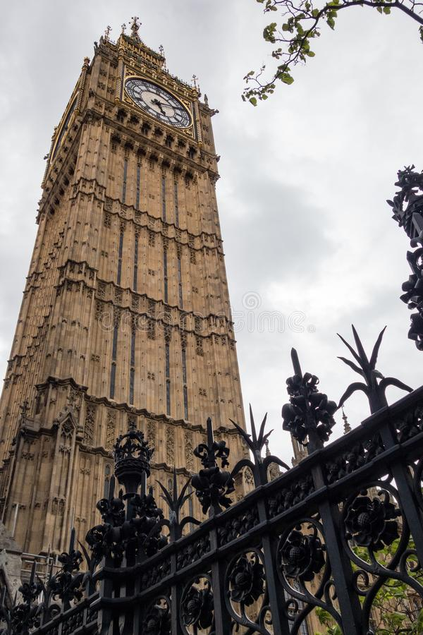 Grand Ben ? Londres L'Angleterre Royaume-Uni photographie stock