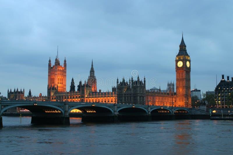 Grand Ben par nuit images libres de droits