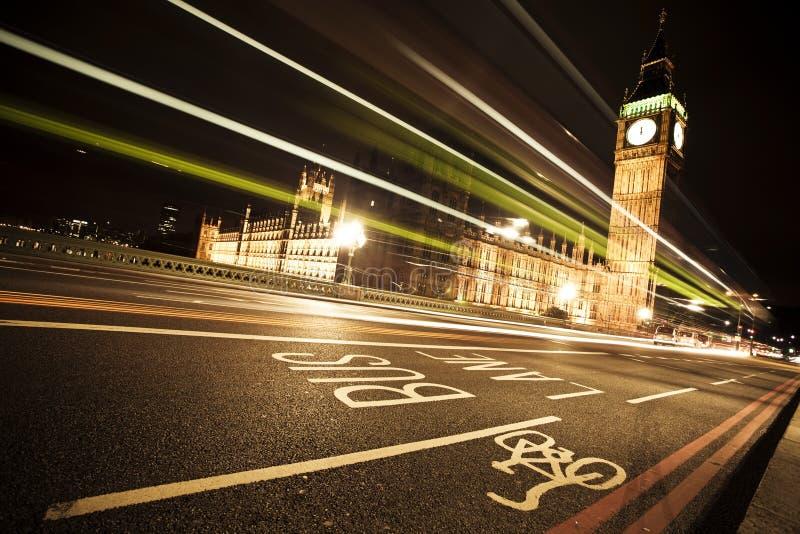 Grand beng la nuit photo libre de droits