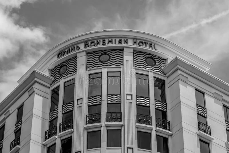 Grand Bohemian Hotel, centre-ville 2 photographie stock libre de droits