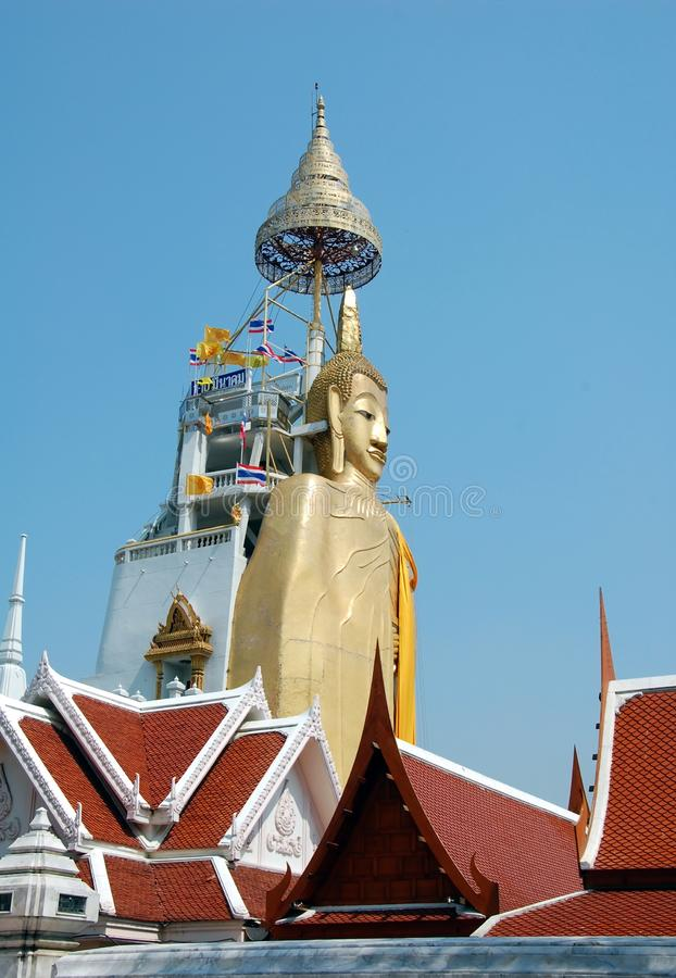 Grand Bouddha debout photo stock