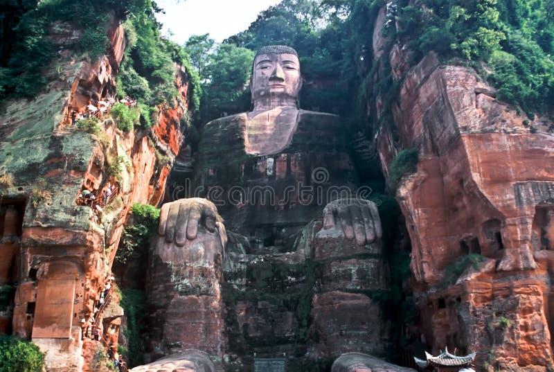 Grand Buddha, China royalty free stock images