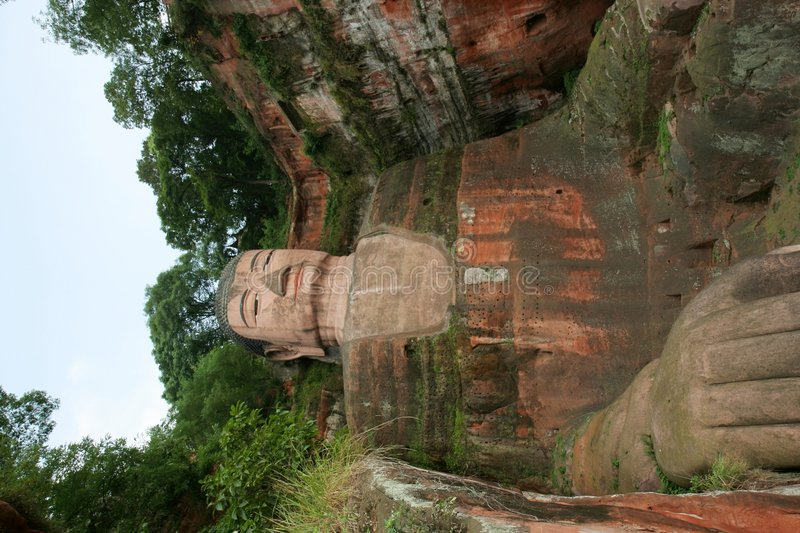 Free Grand Buddha Statue In Leshan Royalty Free Stock Photography - 3539057
