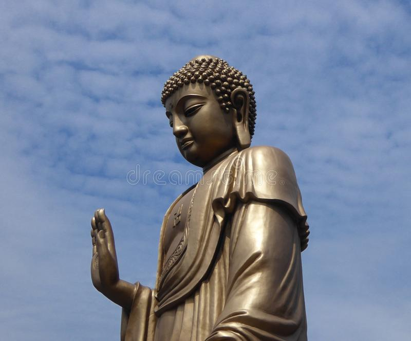 Grand Buddha statue at Lingshan royalty free stock photo