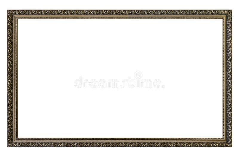 Grand cadre de tableau vide images stock