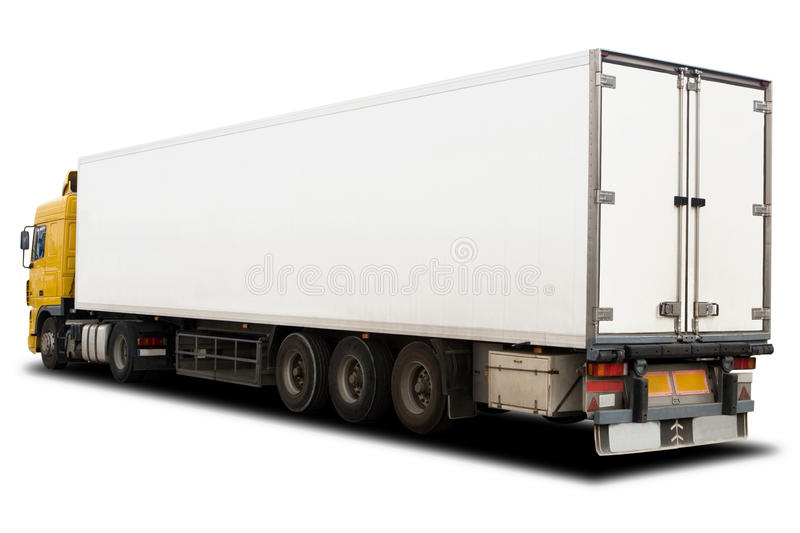 Grand camion photographie stock