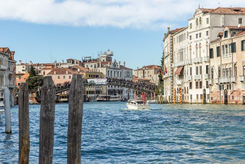 Grand canal à Venise, Italie photographie stock libre de droits