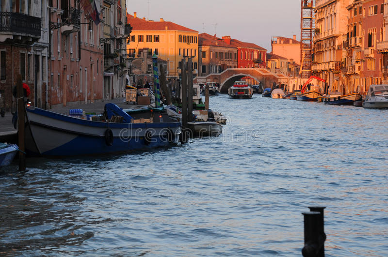 Download Grand Canal at Dawn stock image. Image of house, italy - 28526627