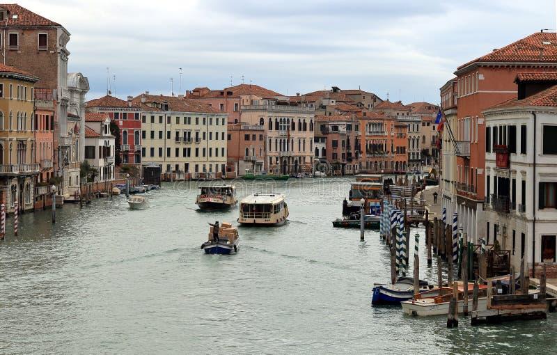 Grand Canal de degli Scalzi de Ponte de pont de Scalzi image stock