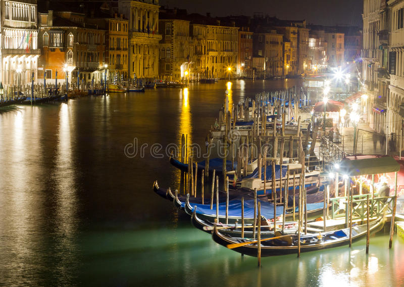 Grand Canal em Veneza foto de stock royalty free
