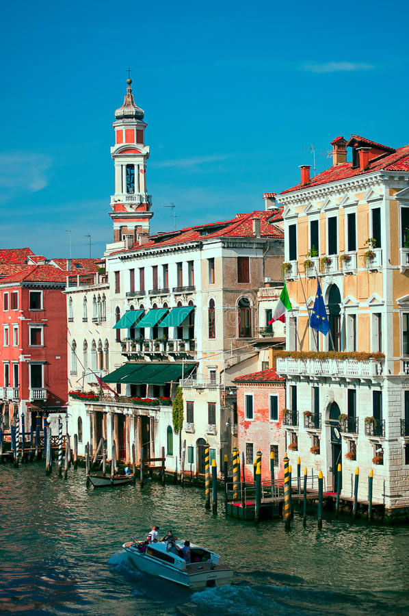 Free Grand Canal In Venice, Italy Royalty Free Stock Photo - 21154775