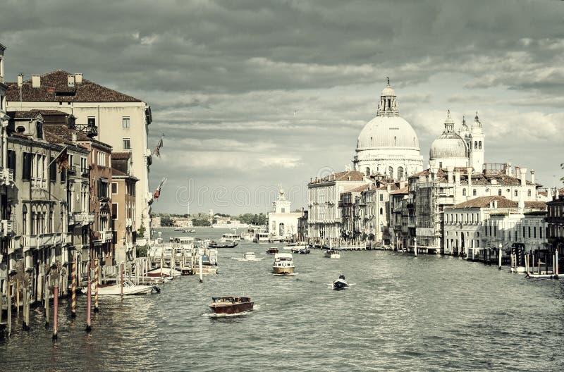 Grand Canal na academia fotos de stock royalty free