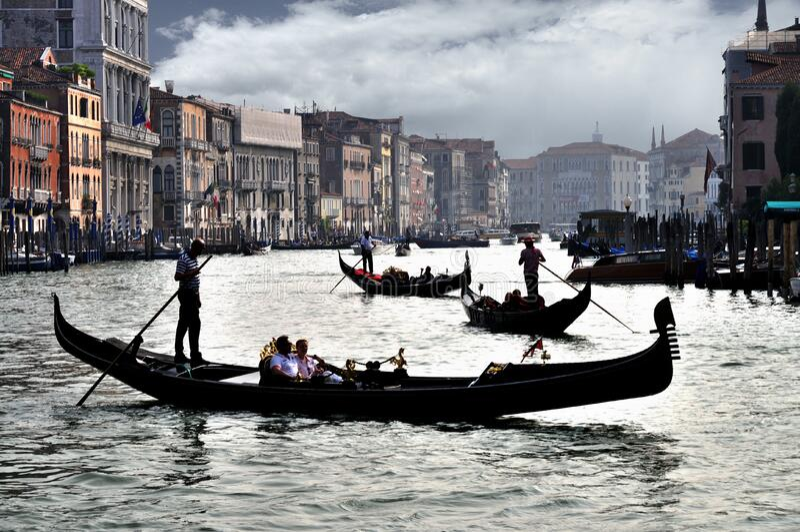 Grand Canal - Rialto - Venice Italy Venezia - Creative Commons by gnuckx stock photo