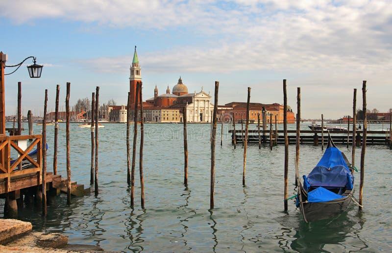 Download Grand Canal And San Giorgio Maggiore Church. Stock Image - Image: 22164581