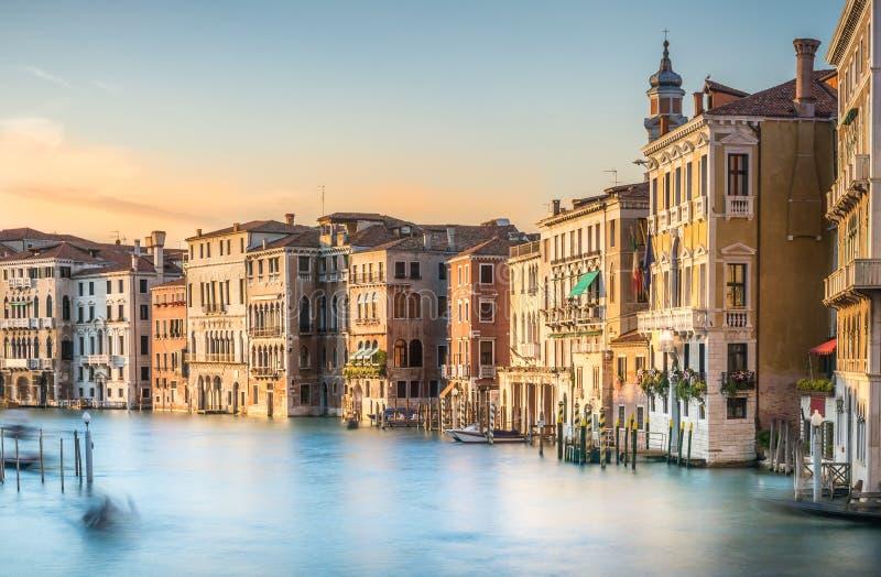Grand Canal -Szene, Venedig stockfoto