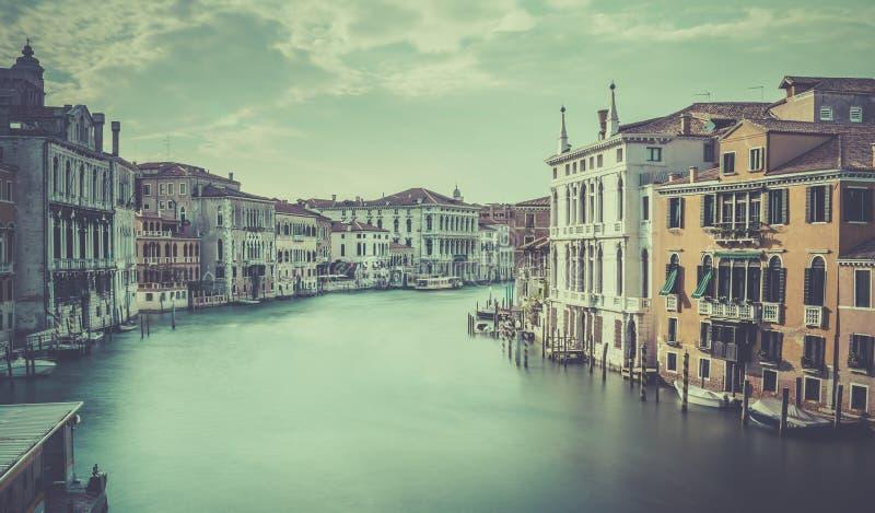 Grand Canal -Szene, Venedig lizenzfreie stockbilder