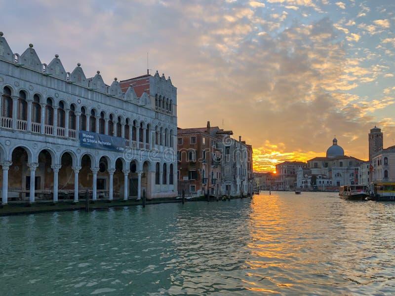 Grand Canal Venetië, Italië royalty-vrije stock afbeeldingen