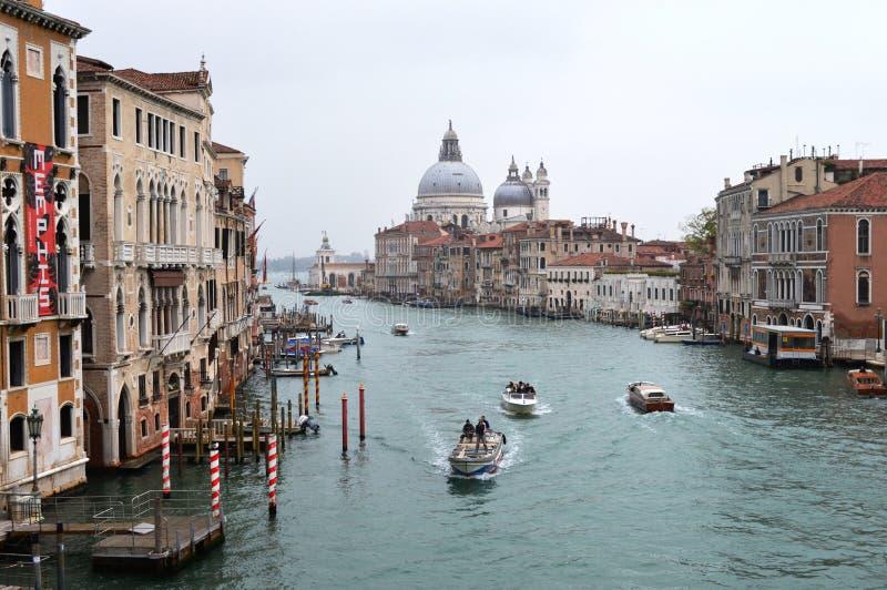 Grand Canal, Veneti? Itali? royalty-vrije stock afbeelding