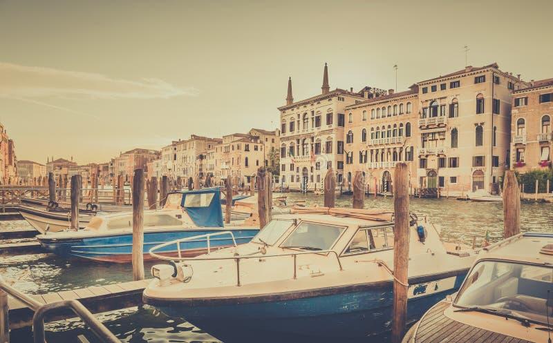 Grand Canal a Venezia, Italia immagine stock libera da diritti