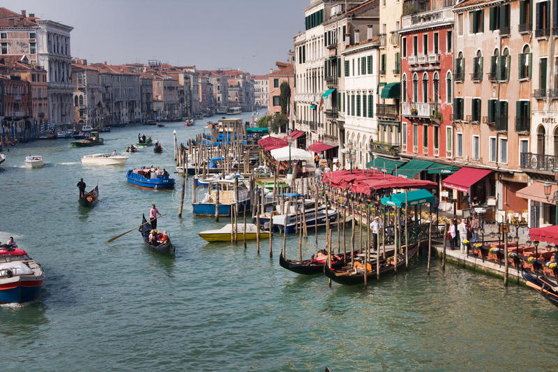 Download Grand Canal in Venice editorial photo. Image of 2009 - 15402636