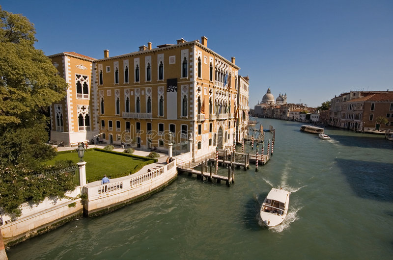 Grand canal in Venice royalty free stock images