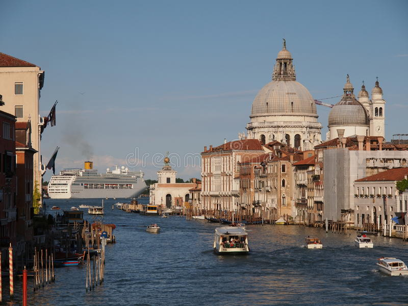 Download Grand Canal in Venice editorial photography. Image of architecture - 23469292