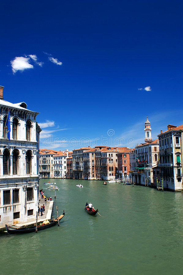 Grand Canal of Venice royalty free stock photo