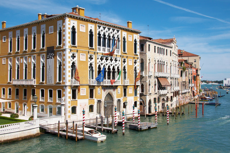 Grand Canal at Venice royalty free stock image