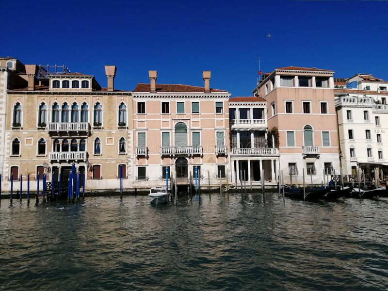 Grand canal of Venice- Italia-Europe. Grand canal of Venice-Italia Europe stock image