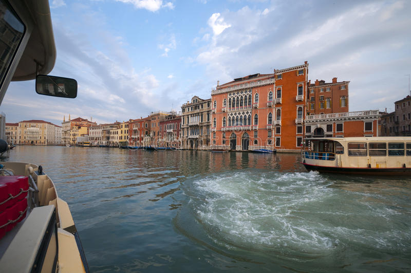 Grand canal in Venice, Italy royalty free stock photo