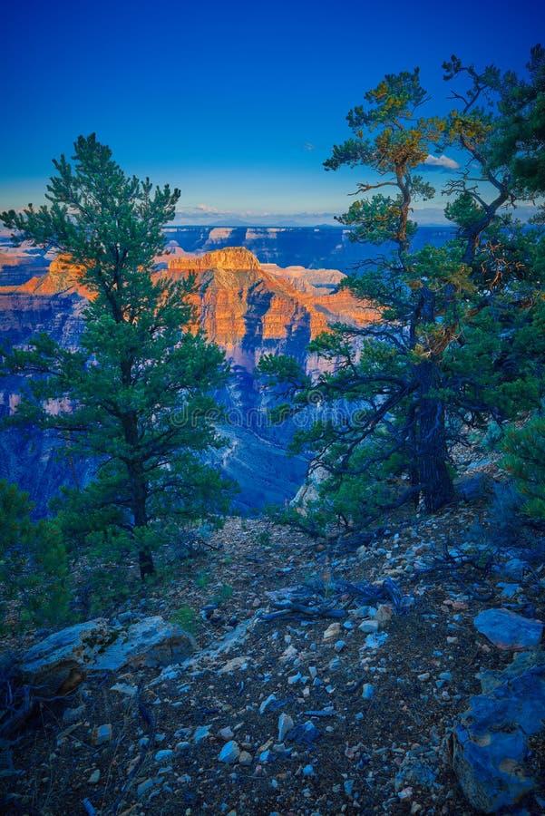 Grand Canyon at Dusk stock image