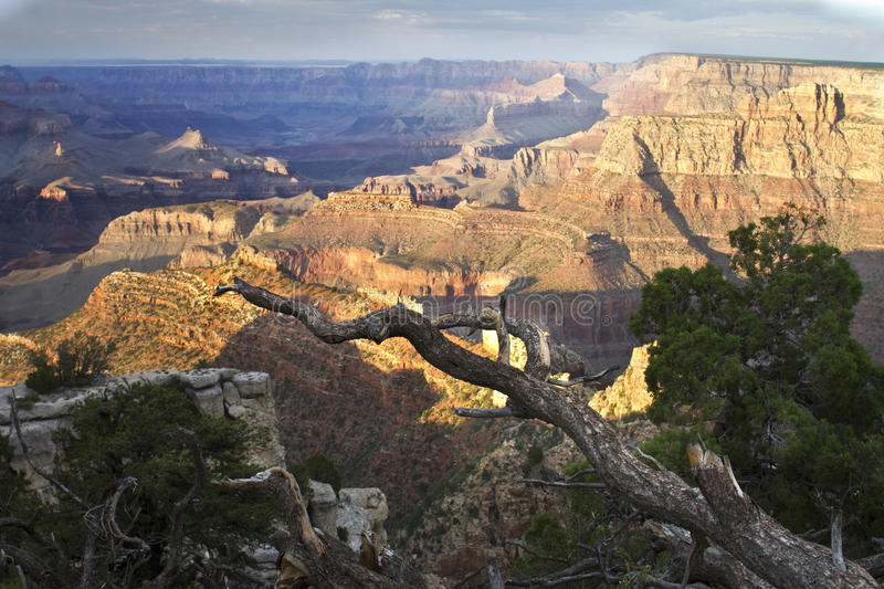 Grand Canyon. Sight from Desert View at South Rim royalty free stock photo