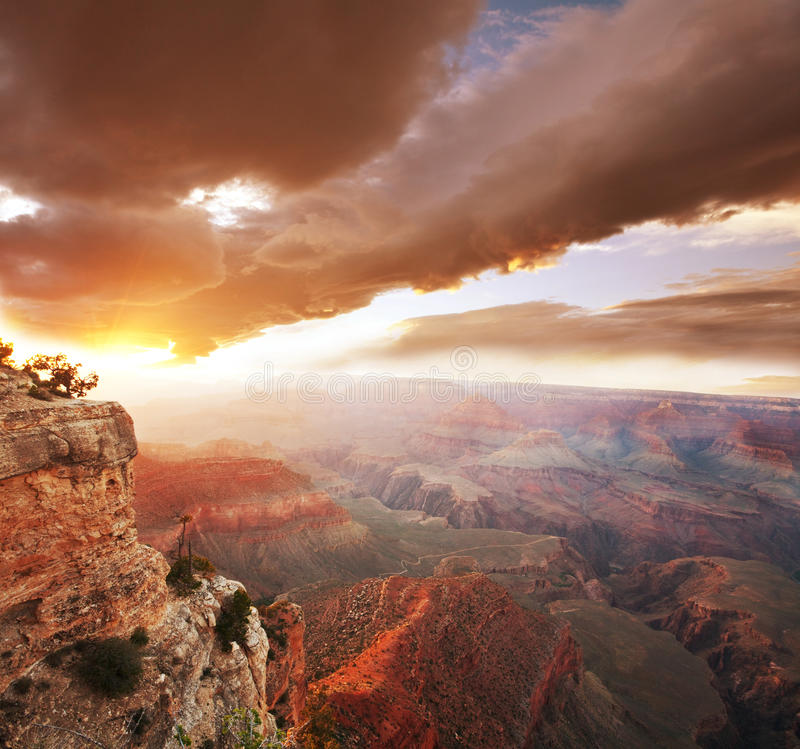 Grand Canyon royaltyfri foto