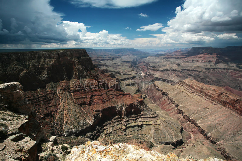 Grand Canyon stockfoto