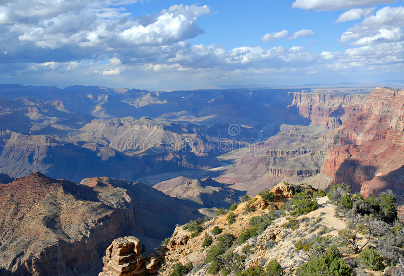 Download Grand Canyon stock photo. Image of beautiful, blue, deep - 3399850