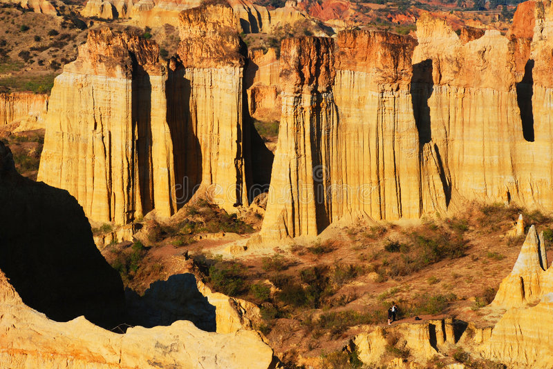 Grand Canyon. This is an grand canyon about Soil Forest .It in yunna china.We say tuling royalty free stock photo