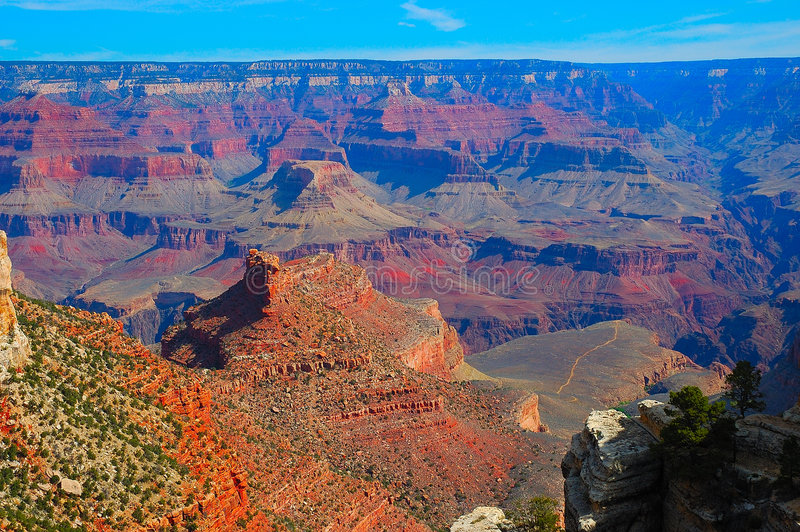 Grand canyon. National Park is one of the United States' oldest national parks and is located in Arizona. Within the park lies the , a gorge of the Colorado stock image