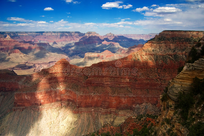 Grand canyon. A look at the majestic Grand Canyon / South Rim stock images